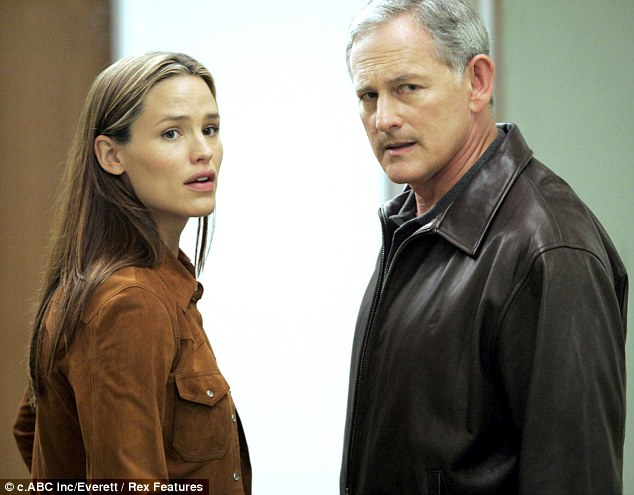 When they were young: The pair have fond memories of starring in hit show Alias together from 2001 to 2006