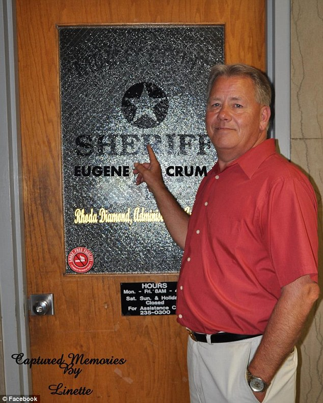 Beloved: Friends say anyone who knew Crum would say he was a great guy who was always surrounded by family as a devote grandfather