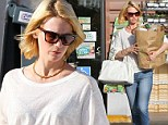 'I see myself as a very independent modern woman': January Jones stocks up on groceries as she admits it would have been difficult for her to live like Betty Draper