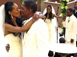Breathtaking: Former ER star Mekhi Phifer weds long-time girlfriend Reshelet Barnes in an intimate ceremony