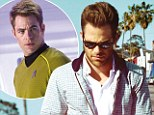 'Star Trek didn't excite me': Chris Pine says he 'wasn't a fan' of the series before landing the part as legendary Captain Kirk