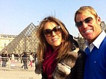 Tourists: Elizabeth Hurley and fiance Shayne Warne take in the sights of Paris during romantic break in the French capital