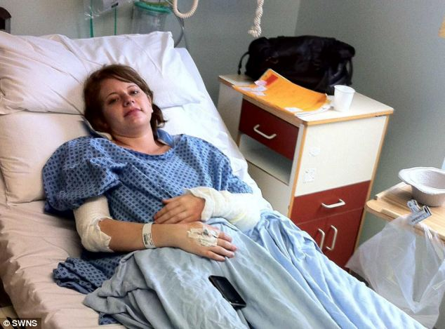 Mrs Brain was heavily pregnant when the explosion happened meaning she could not take morphine while she was being treated