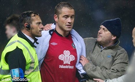 Bad news: Rovers keeper Paul Robinson has been diagnosed with a blood clot