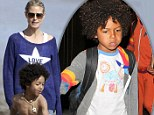 Heidi Klum's son designs monster T-shirts
