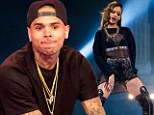 Chris Brown is worried Rihanna will cheat on him