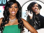 Brave face: Porsha attended a Bravo event in New York