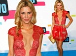 Brandi Glanville at the Bravo Upfronts in new York City