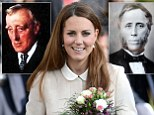 The Duchess of Cambridge and her ancestors