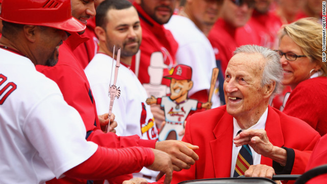 Baseball Hall of Famer and St. Louis Cardinals great Stan Musial died on January 19, according to his former team. He was 92.