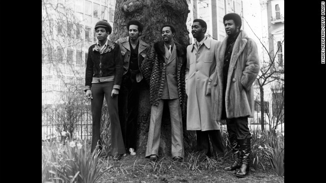 Richard Street, former member of the Temptations, died at age 70 on February 27. Street, second from the left, poses for a portrait with fellow members of the Temptations circa 1973.