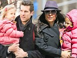 Sharing the load: Bethenny Frankel and Jason Hoppy settle into separated life as they split daughter Bryn's school runs