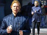 Personal spring cleaning! Clare Danes endures a gruelling jog just a week after buying a juice cleanse
