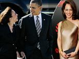 The President paid Kamala Harris a number of compliments during the garden party style event on Thursday, with a noted number of them extending past her work as the state's highest legal authority.