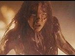 Blood on her hands: Chloe Moretz shrieks and writhes as she wreaks havoc in terrifying Carrie trailer