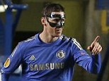 The man in the mask: The goals were the 17th and 18th of the season for the Spanish striker