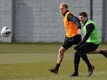 Leader: Steven Gerrard is in line for a new deal to see out his playing days at Liverpool