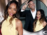 Jada Pinkett-Smith attended a New York City premiere with her husband Will on Wednesday