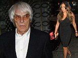 Getting to know the in-laws: Tamara Ecclestone brings fiance Jay Rutland to dine with father Bernie