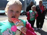 I'll have two scoops! Honey Boo indulges sweet tooth with double ice cream on sightseeing spree with Mama June