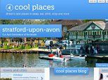 Cool Places review website screengrab