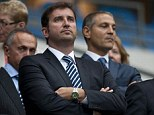 Leading the charge: Manchester City chief executive Ferran Soriano
