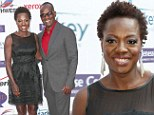 Queen of the carpet! Viola Davis and and husband Julius Tennon are the shining stars at Silver Rose Gala