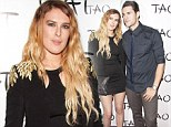 Damsel in dis-tress! Rumer Willis is all legs in a sleek LBD... but offsets the classy look with unkempt tresses