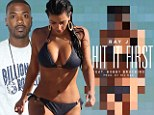 'She still belongs in my bed': Ray J lays claim to sex tape ex Kim Kardashian in vulgar new single I Hit It First
