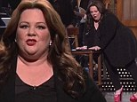 Round two! Melissa McCarthy takes a fall for the sake of comedy on her second time hosting Saturday Night Live