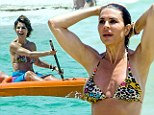 Looking good! Lisa Rinna, 49, keeps active during her Cancun vacation