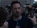 Fist of fury: Tony Stark swears to have revenge against the Mandarin in newly released clip from Iron Man 3