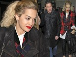 Another hot date? Rita Ora enjoys her last night in London at the Groucho with Dave Gardner before jetting off the LA