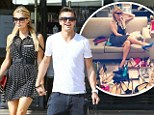 Paris Hilton flaunts her pins in sleeveless LBD to buy shoes with her toyboy River Viiperi