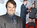 The tables have turned! Funny man Jack Black gets roasted at the Friars Club