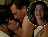 Spoiler alert: Don Draper is up to his old tricks as he beds a woman who's NOT his wife, while Betty goes brunette in Mad Men season six opener