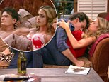 It's only for the cameras! Charlie Sheen beds ex-wife Denise Richards on Anger Management