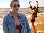 LeAnn Rimes looks jubilant as she shows off her healthy curves in bikini and tiny cut-off shorts