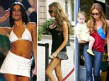 Boom and bust - The ups and downs of Victoria Beckham's cleavage