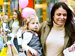 A bashful pair! Bethenny Frankel and daughter Bryn go to party in New York