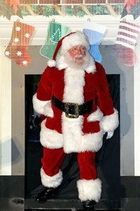 Ho, Ho, Ho, Falcons!  I've got some strength of character in my sack for you to help you cope with losing to the Saints on MNF.  (Photo by Tom Pennington/Getty Images for Texas Motor Speedway)