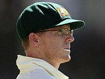 Solitary: Chris Rogers has played just one Test match for Australia - against India in 2008