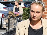 That's why she got the contract! Make-up free Diane Kruger reveals the flawless skin that made her the face of Chanel beauty
