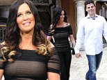 Patti Stanger was bursting with joy at being out with boyfriend David Krause