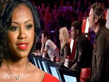The Voice finally gets its standout! Singer Sasha Allen gets all three judges' chairs turning after powerful performance