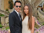 Things are getting serious! Marc Anthony and Chloe Green attended a friend's wedding together in Puerto Rico on Saturday