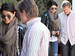 Her new leading man! Selena Gomez chats with William H Macy after meeting in LA