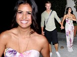 'Bored and Lonely' Catherine Guidici puts on a show with fiance Sean Lowe to attend Dancing With The Stars after party