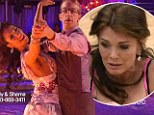 Carrie Ann Inaba in tears as Andy Dick performs emotional ballroom tribute to his daughter... while Lisa Vanderpump dances on after fainting fit on DWTS