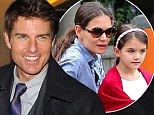 Blindsided: Tom Cruise, pictured here in London earlier this week, has opened up about his split from Katie Holmes